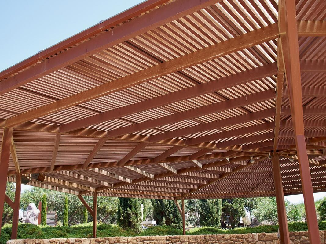 beautiful shaded structures and pergolas